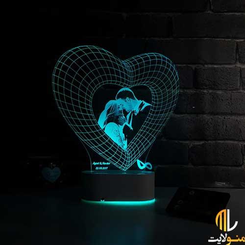چراغ خواب سه بعدی کد ML97-14