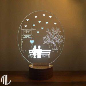 بالبینگ سه بعدی عشق با متن دلخواه