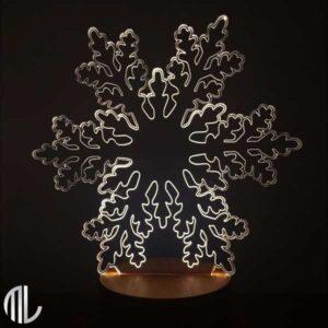 چراغ خواب دونه برف سه بعدی