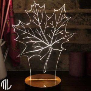 چراغ خواب برگ سه بعدی