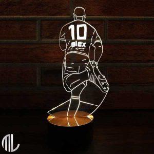 چراغ خواب سه بعدی طرح فوتبال