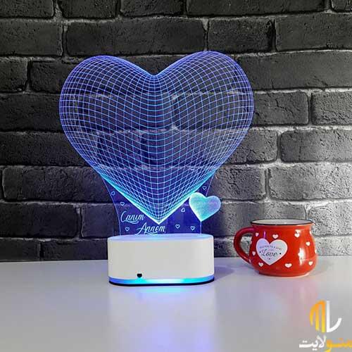 چراغ خواب سه بعدی کد ML97-25