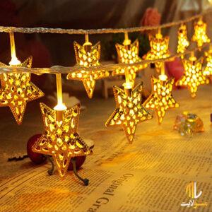 ریسه ال ای دی ستاره فلزی